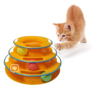 Ball Play Tower for cat