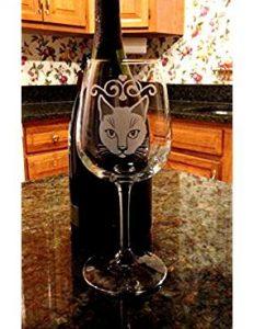 cat wine glasses